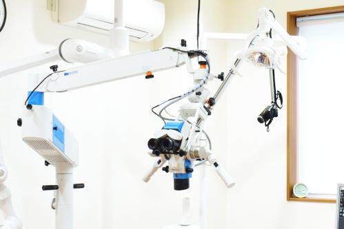 なぎさ歯科クリニック 保険適応外の根管治療 マイクロスコープ